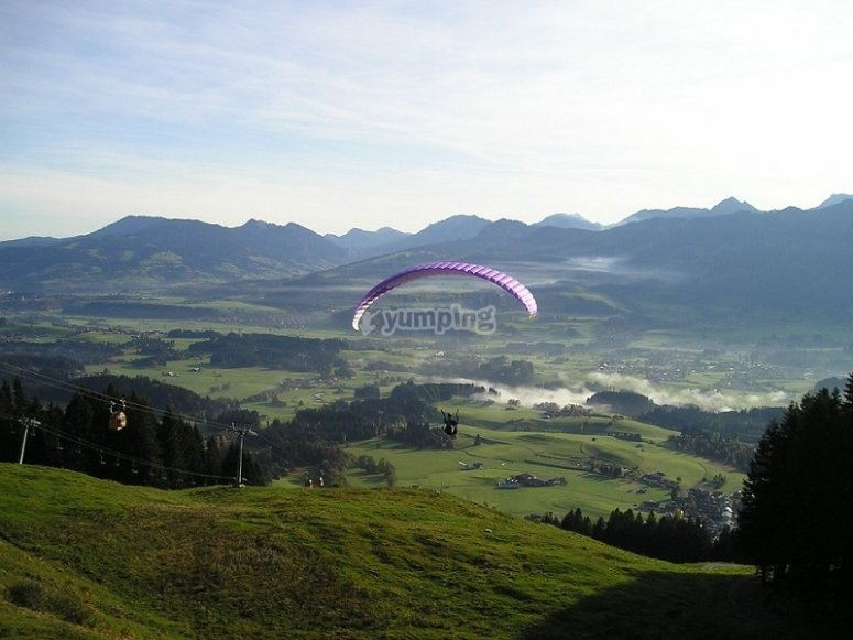 Paraglide experience