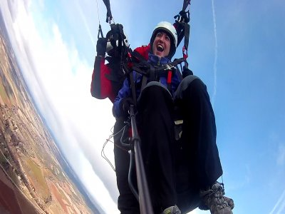 Two-Seater Paragliding in Alarilla with Video