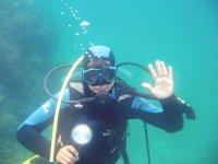 Calahonda的开放水域潜水员潜水课程