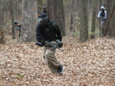 Partita di paintball da 150 palle in Luesia