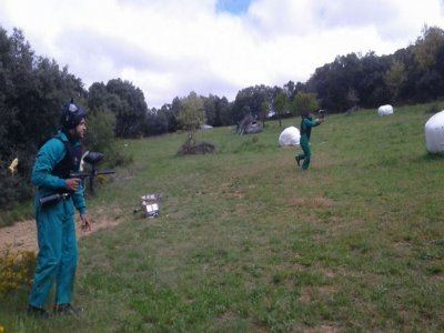Paintball Game in Zaragoza + Accommodation
