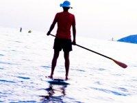 Paddle surf en Castelldefels