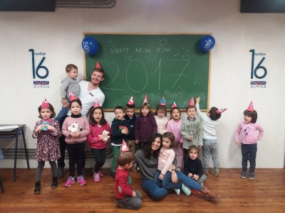 Clases lúdicas de inglés para niños en Zaragoza