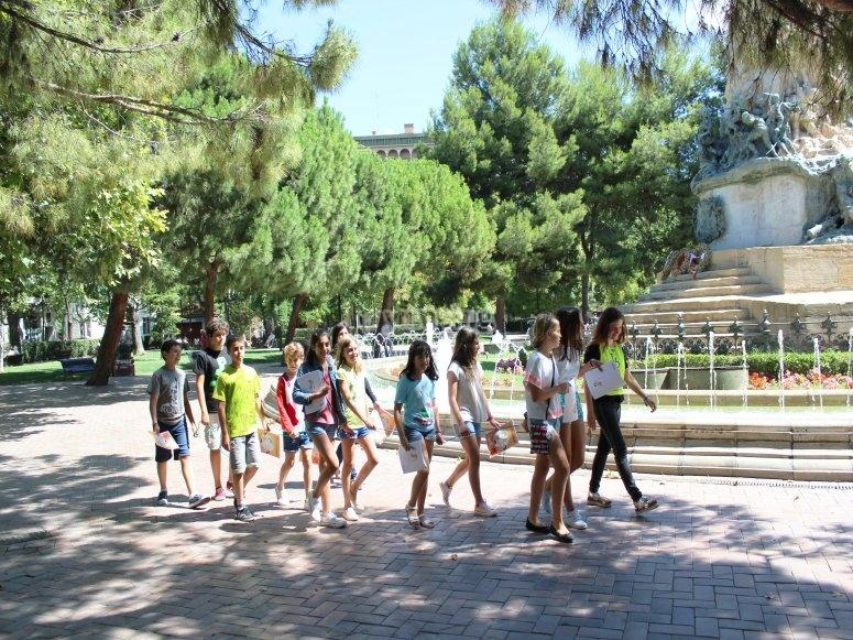 Learning English in Zaragoza