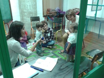 Clases de inglés para bebés por la mañana