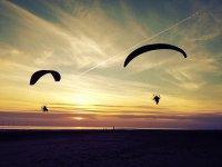 空中滑翔伞