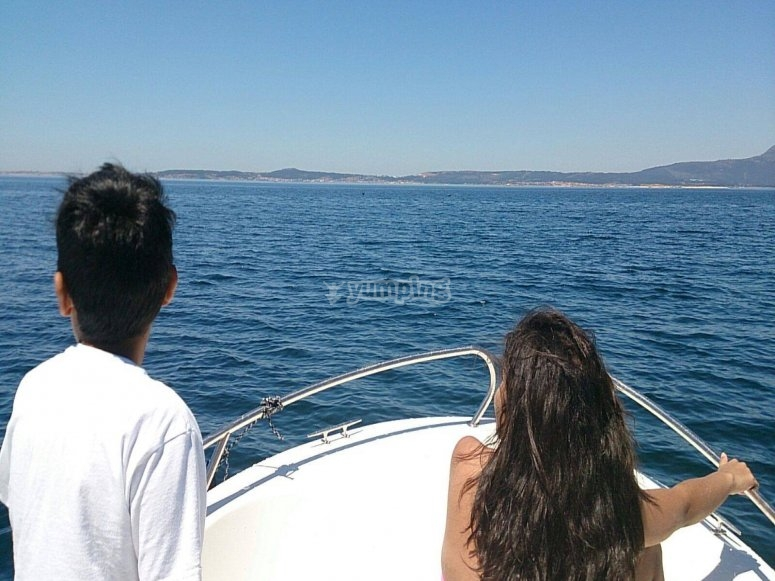 Navegando en la mejor compañía