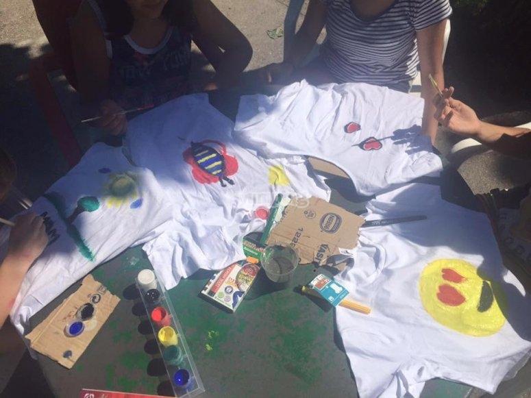 Decorando nuestras camisetas