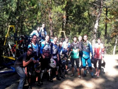 Mountain bike route and 2 nights in La Adrada