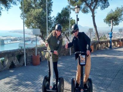 Paseo en segway por Málaga de 1 hora