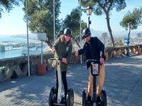 Recorrer la ciudad de Malaga en segway