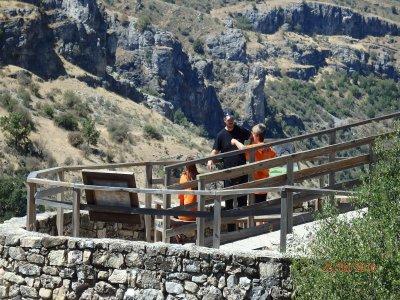 Percorso escursionistico Falce di Pelegrina PN Río Dulce