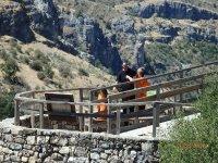 Senderismo ruta Hoz de Pelegrina PN Río Dulce