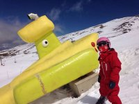 Clase de esquí grupal en Sierra Nevada 2 horas