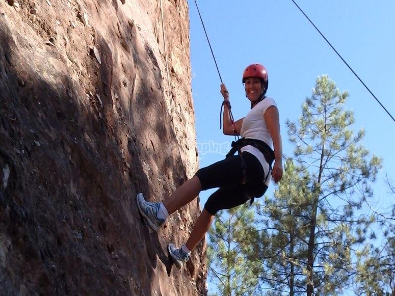 Aprendiendo a escalar en Guadalajara
