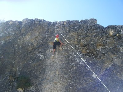 Climbing activity for schools in Guadalajara
