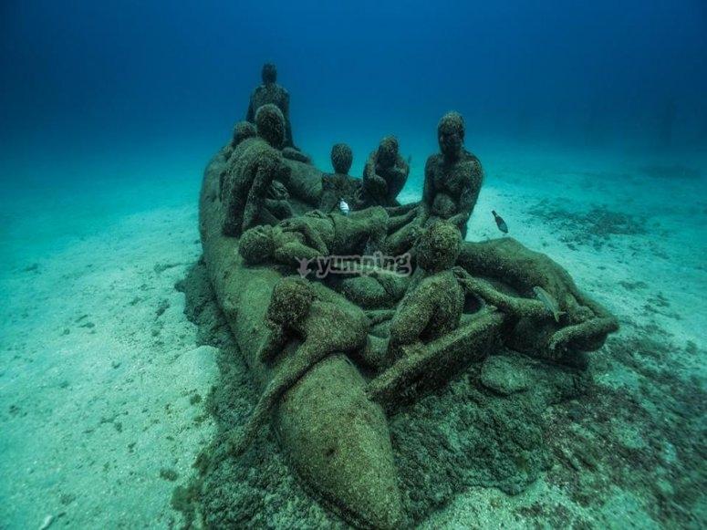 博物馆捍卫海洋