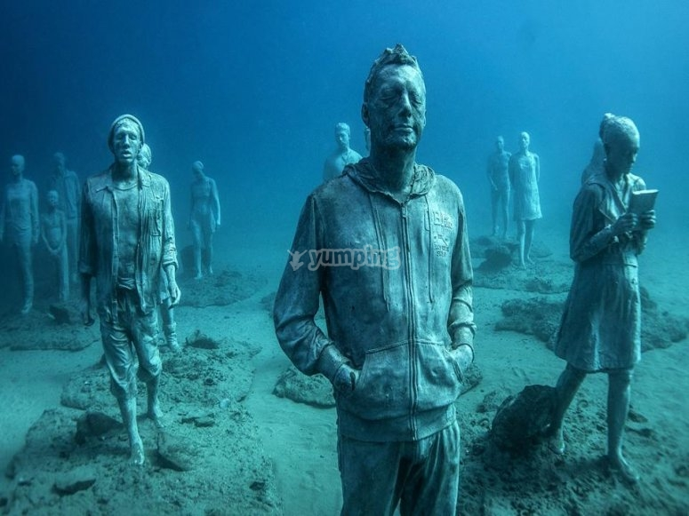 水上博物馆雕像