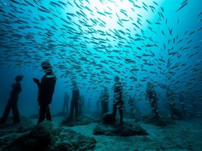 Immersioni nel museo acquatico di Lanzarote