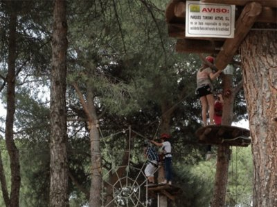 Circuito de aventura infantil en Torrelodones 1h