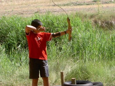 Archery for schools in Sigüenza