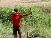Actividad escolar de tiro con arco