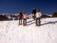 La Molina的雪鞋游览2小时