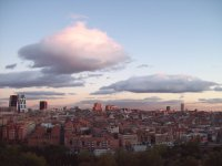 马德里的天空