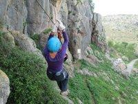 Via ferrata à Cuevas de las Ventanas à Comares