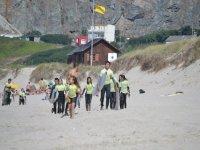 Grupo en Surfari Surf Camp