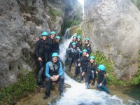 Family canyoning route