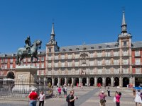 La Plaza Mayor di Madrid