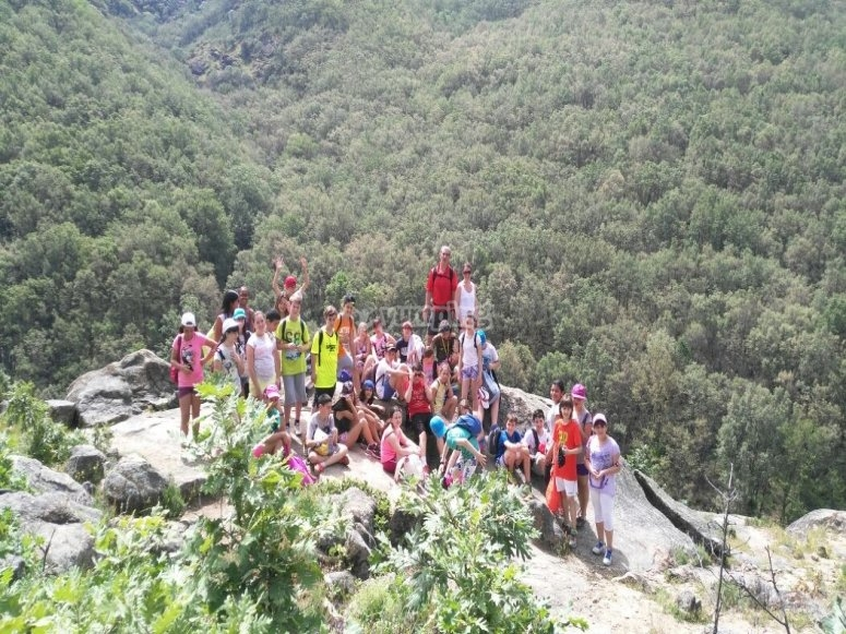 Hiking with children