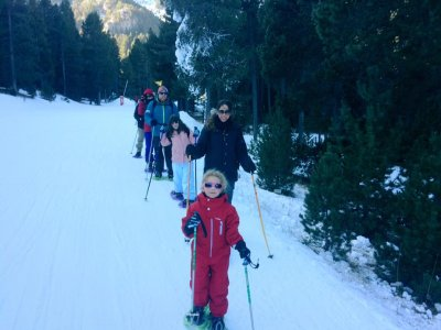 Snowshoeing for beginners, Barcelona, 1h