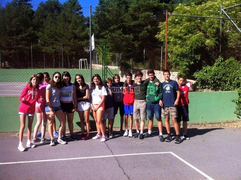 Algunos de los participantes en Segovia