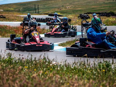 Gymkhana and karts+barbecue in Martinamor