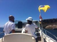 Salida cientifica en barco