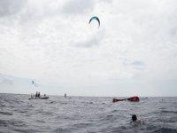 clase de kiteboarding