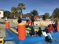 Inflatable gladiator fight