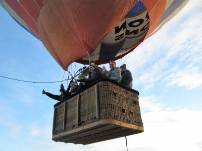 Globo cautivo en Segovia para eventos de empresa