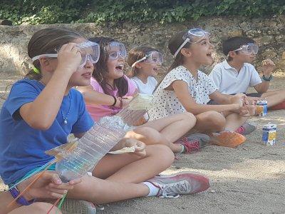 Campamento de ciencias en Guadarrama en julio