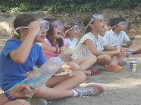 Campamento de ciencia durante el verano