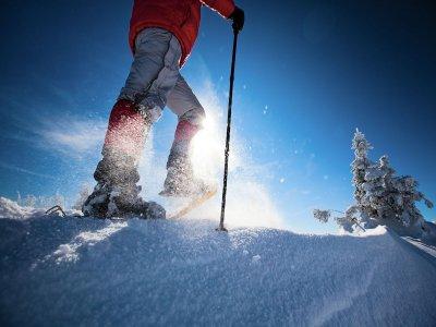 Ruta en raquetas de nieve por la sierra de Madrid