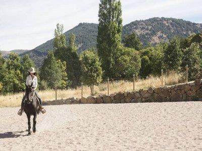 Paseo a caballo por la Sierra de Villafranca 1h 30