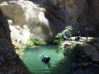 Canyoning for children in La Horta de Sant Joan