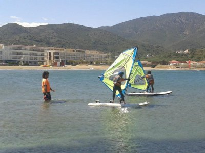 Rent windsurfing equipment in Port de la Selva