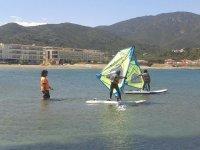 Alquila material de windsurf en Port de la Selva