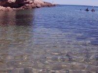 Waters of Cala Llobeta