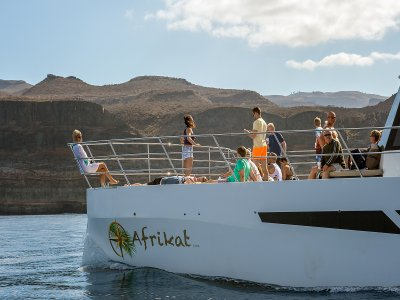 双体船游览南大加那利岛成人