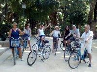 Visitando Sevilla en bici